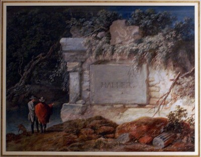 Haller_grave_painting_by_Gessner