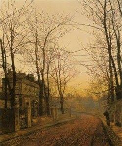 John Atkinson Grimshaw - An Autumn Idyll