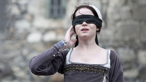 Programme Name: Wolf Hall - TX: n/a - Episode: Ep6 (No. 6) - Picture Shows:  Anne Boleyn (CLAIRE FOY) - (C) Company Productions Ltd - Photographer: Giles Keyte