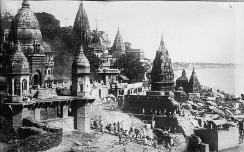 old 18th century Varanasi picture