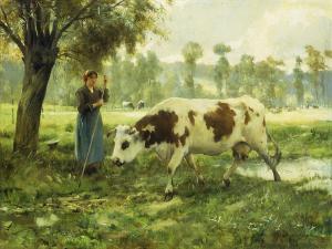 cows-at-pasture-julien-dupre