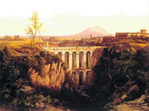 Edward_Lear,_Civita_Castellana_(1844)