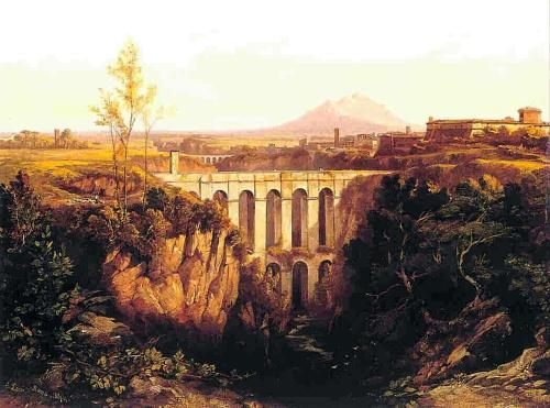 Edward_Lear,_Civita_Castellana_(1844)