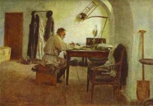 leo-tolstoy-in-his-study-1891IlyRepin