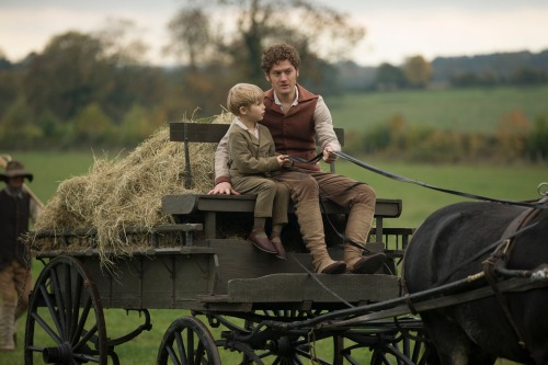 WARNING: Embargoed for publication until 00:00:01 on 13/09/2016 - Programme Name: Poldark - TX: n/a - Episode: episode 3 (No. n/a) - Picture Shows: Geoffrey Charles and Francis.  Geoffrey Charles, Francis (KYLE SOLLER) - (C) BBC - Photographer: Adrian Rogers