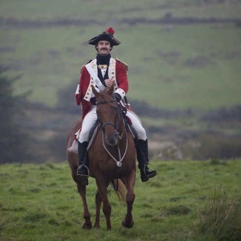 WARNING: Embargoed for publication until 00:00:01 on 13/09/2016 - Programme Name: Poldark - TX: n/a - Episode: episode 3 (No. n/a) - Picture Shows: Captain McNeil.  Captain McNeil (HENRY GARRETT) - (C) BBC - Photographer: Jon Hall