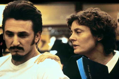 FILM: DEAD MAN WALKING (1995) SUSAN SARANDON AND SEAN PENN IN A SCENE FROM THE (1995) FILM  WORKING TITLE 01/05/1995 CTK32024 Film still Drama